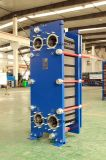 炭素鋼のノズルを持つ等しいTs6mのステンレス鋼316の版の蒸気のガスケットの版の熱交換器