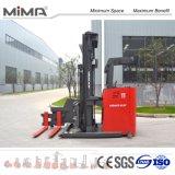 De nieuwe Hoogte Elektrische 3-Way Forklifts Van uitstekende kwaliteit van de Voorwaarde en Max. het Opheffen van 7500mm