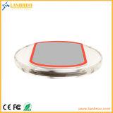 Qi-drahtlose Aufladeeinheits-Auflage mit Kristall-PC Matten-Material anpassen