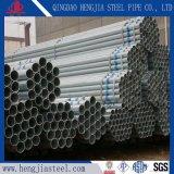 Tubo d'acciaio galvanizzato del TUFFO caldo del sistema dell'armatura della costruzione