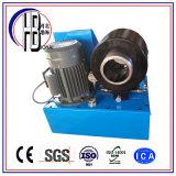 高品質の低価格フィン力のドイツによって使用される油圧ホースひだが付く機械