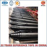 Высокое качество многоэтапный телескопический гидравлический цилиндр одностороннего действия для продажи