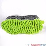 Microfiber Chenille-Wäsche-Schwamm mit Ineinander greifen