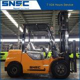 Forklift Diesel de China 3tons com altura de levantamento de 6m