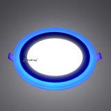 중단된 LED 위원회 빛 6+3W의 둘레에 변화하는 2 색깔