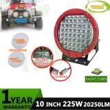 225W 10inch 크리 사람 SUV를 위한 Offroad LED 모는 일 빛