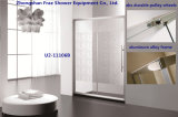 曇らされた緩和されたガラスのシャワー・カーテンの浴室の家具の簡単なシャワー室のシャワーボックス