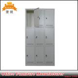 Порошк-Coated используемый гимнастикой стальной локер металла двери мебели 9