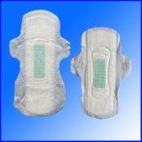 Première serviette hygiénique de coton de pente pour Madame