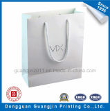 Хозяйственная сумка белой бумаги высокого качества прокатанная Matt