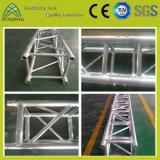 Load-Bearing подгонянная серебристая алюминиевая ферменная конструкция квадрата Spigot 500kg