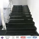 Absolute schwarze Granit-Treppen-Polierjobsteps für Innen