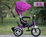 Triciclo barato de /Kids do triciclo do bebê com banco traseiro