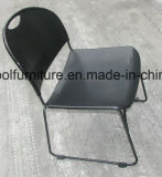 White Color를 가진 최신 Sale Stackable Plastic Steel Chair