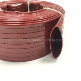 PVC Customerized 크기 색깔을%s 가진 물자 표준 의무 Layflat 호스
