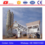 Yhzs75 Mobile Cement Batching Plant with 100t Cement Silo