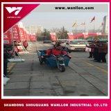 Triciclo del cargo del cargamento 800kg de la rueda de la potencia de batería tres