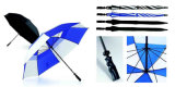 Зонтик гольфа руководства открытый провентилированный
