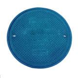O sistema de drenagem de plástico de plástico reforçado com fibra de vidro ao redor da tampa de inspeção