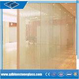 10.38mm / blanc laiteux en verre feuilleté de sécurité pour la construction de la porte de douche/fenêtre