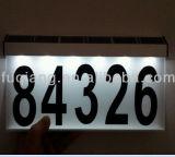 Aluminiumsolarhausnummer-Licht