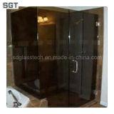 3mm-19mm Trempé pour écrans de douche en verre de sécurité
