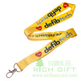 Dog Clipの2016新しいDesign Heat Transfer Printing Starp Lanyard