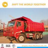 70t la remoción de Overlord Sinotruk HOWO 6X4 371CV camión de minería de datos