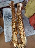 Fornitore /Black del sassofono del baritono nichelato