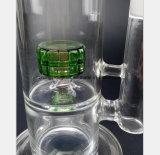 De Rokende Pijp van het Glas van 12.2 Duim van de Groene Waterpijp van de Filter van het Nest van de Vogel