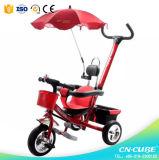 4/1 Stoss-Auto scherzt Dreiraddoppelsitz/Dreirad für Baby Trike der Kind-/drei Räder