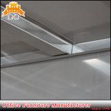 Hospital puerta de cristal de acero inoxidable armario Armario de almacenamiento de Medicina de metal