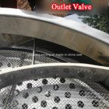 Setaccio di vibrazione della noce di cocco SUS304 dell'uovo della polvere circolare rotativa delle coperture