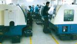 De Machine van de Scharnier van de Deur van het Glas van de Lente van de vloer td-220b