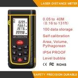 Laser tenuto in mano Diastimeter del tester di distanza del laser 40m