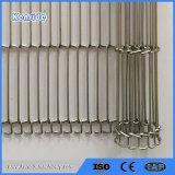 De Fabrikant Ksd SUS 304 van China Riem van de Transportband van het Metaal De Vlakke Flex
