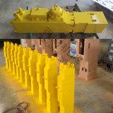 Hardox platea los cortacircuítos hidráulicos del martillo de Corea Soosan del excavador
