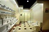 Toilette d'une seule pièce CE-T1322 de salle de bains de Siphonic