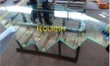 薄板にされたガラスを囲うこと