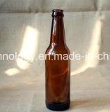 Fabrik-direkte bernsteinfarbige Glas500ml bierflasche mit Schutzkappe