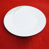 草手塗りの円形の陶磁器表の版/ディナー・ウェアの版