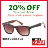 Acétate chaud Sunglass de mode de vente pour Erope (FCS8335)