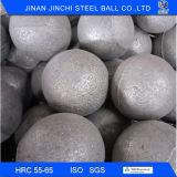 Esfera de aço fundido Meios de moagem para o moinho de bolas