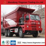 Camion- d'exploitation de 70 tonnes HOWO Chine