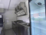 Тележки еды высокого качества 2017 трейлер кухни передвижной передвижной с плитами Dimond
