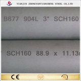 904L/1.4539 Schdule 160 가격에 있는 이음새가 없는 스테인리스 관 또는 관