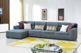 Insieme moderno del sofà dell'angolo del tessuto della mobilia del salone