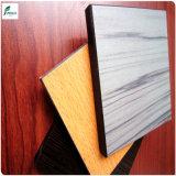 Laminado de madera de alta presión superficial Textured del grano