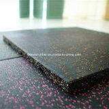 Qualitäts-Shockproof elastische Gummibodenbelag-Gymnastik-Fliesen