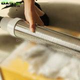 Il doppio tubo dell'acciaio inossidabile del filtrante ha basato il vaglio filtrante del casing del pozzo del filtro per pozzi